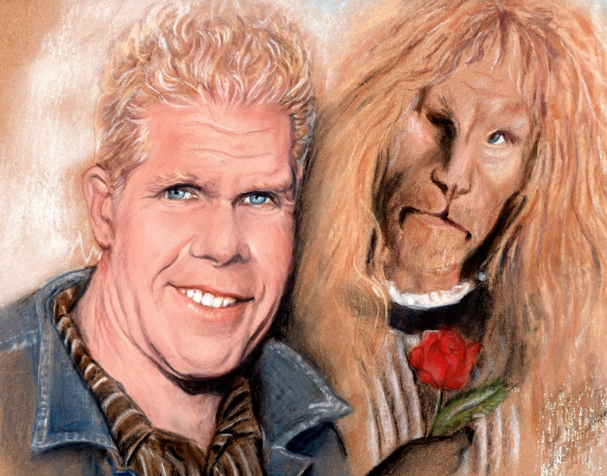 Ron Perlman by Jackie.To